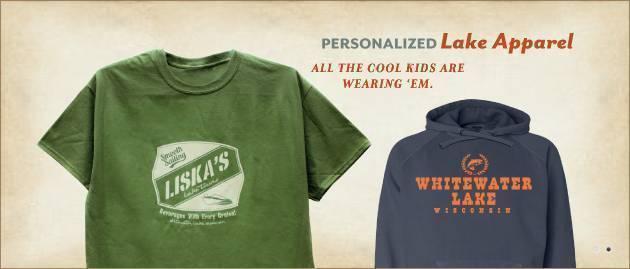 Custome lake shirts