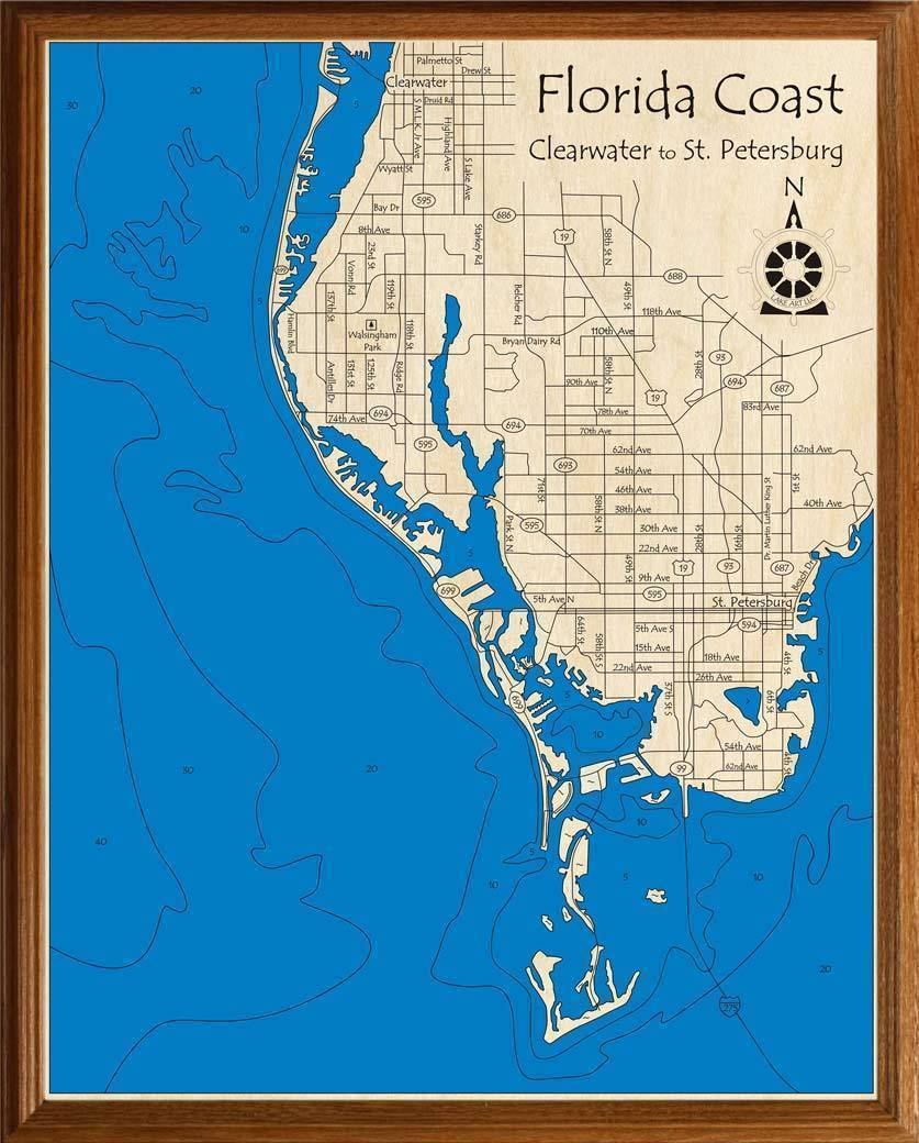 Florida Gulf Coast (Clearwater to St. Petersburg ...
