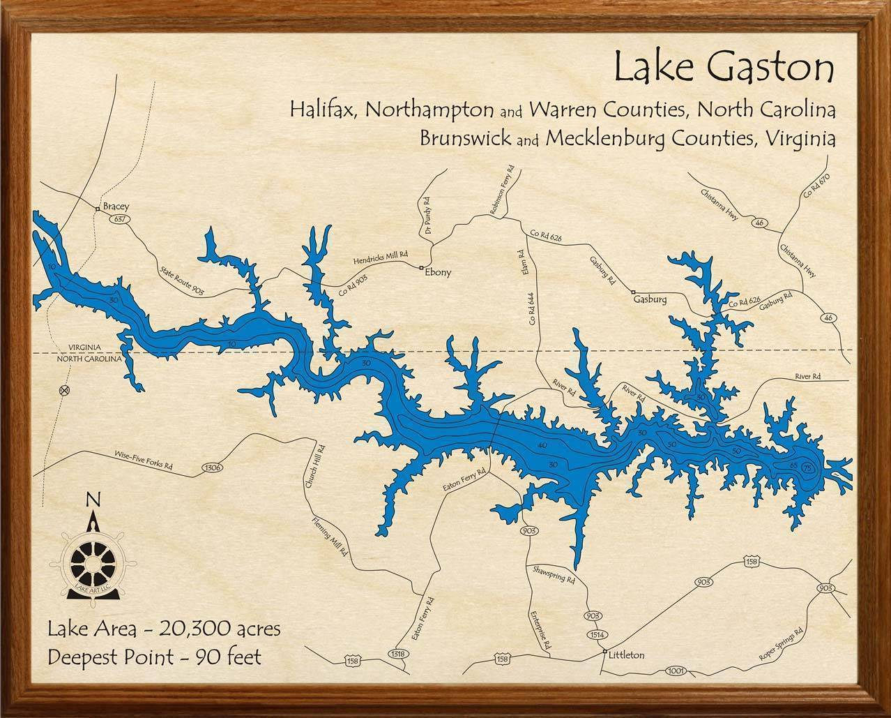 map of lake gaston Lake Gaston Lakehouse Lifestyle map of lake gaston