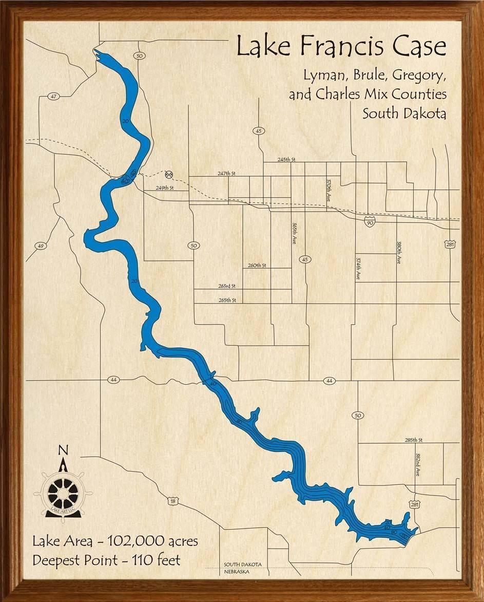 lake francis case map Lake Francis Case Lakehouse Lifestyle lake francis case map