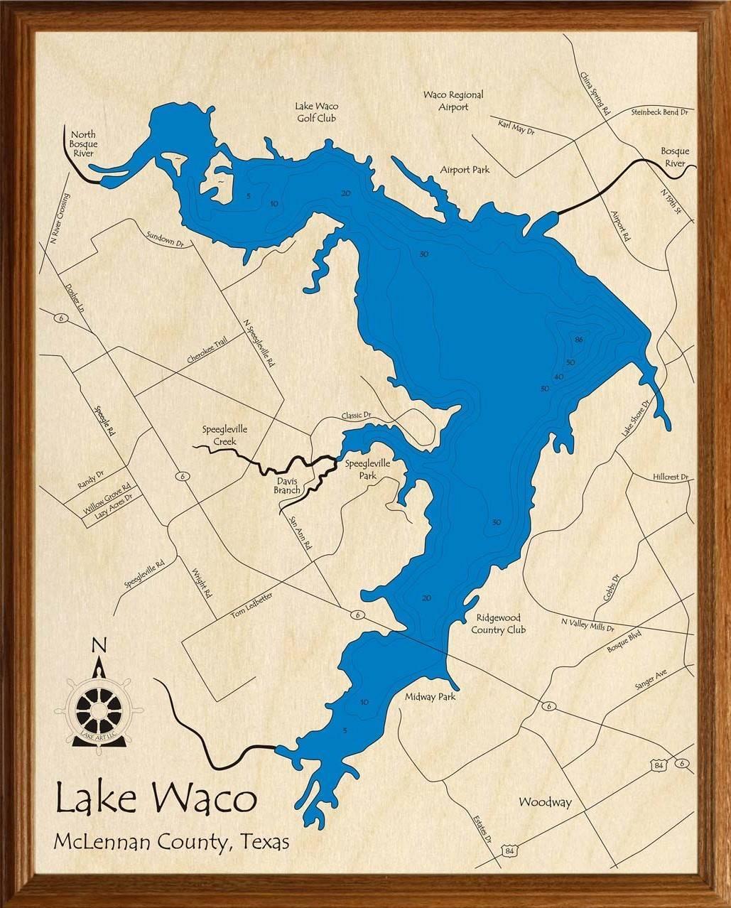 map of lake waco Lake Waco Lakehouse Lifestyle map of lake waco