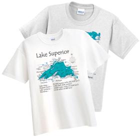 lake map shirt