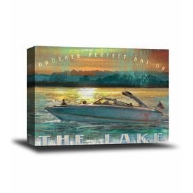 Speedboat Art