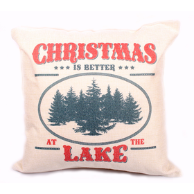 Christmas at the Lake Pillow