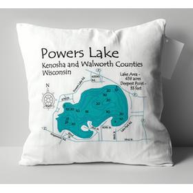 Onondaga Lake Pillow