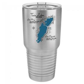 Lake Map Tumbler