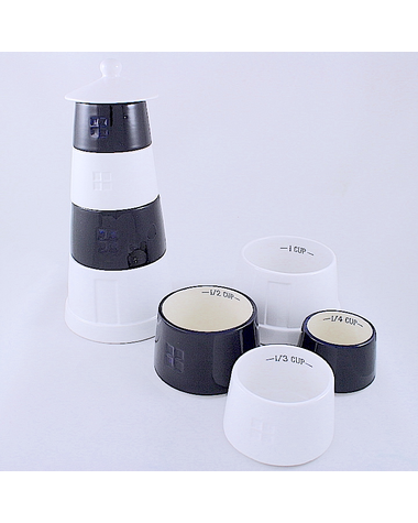 Lighthouse Measuring Cups
