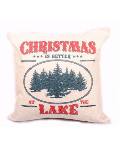 Christmas at the Lake Pillow