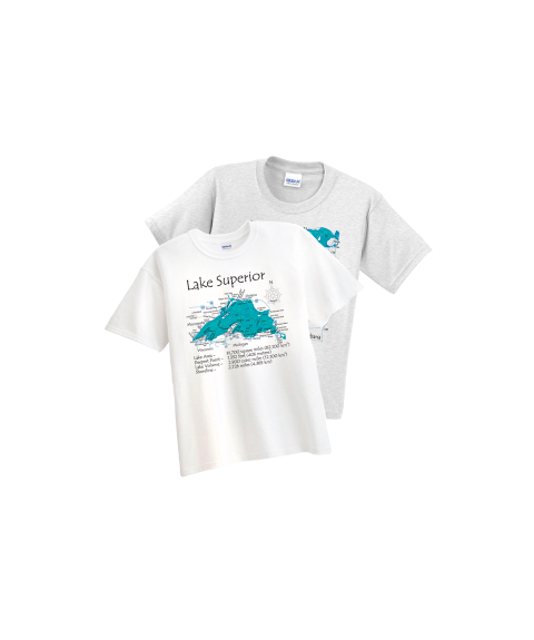 lake map shirt
