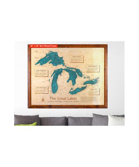Burlwood Map