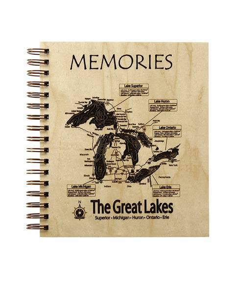 Lake Map Journal